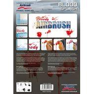 H&S Blood Splash stencil 410146