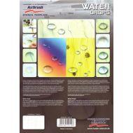 H&S Waterdrop stencil 410114