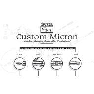 Iwata Custom Micron reservedelskatalog