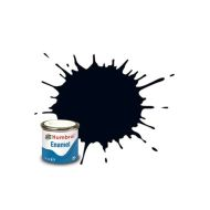 Humbrol Enamel Metallic Black 14ml.