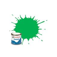 Humbrol Enamel Gloss Fluorescent Signal Green 14ml.