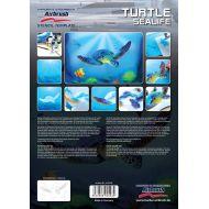 H&S Stencil, Turtle Sealife set, 2 stk. A4 størrelse.
