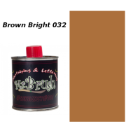 032 Mr. Brush Brown Bright 125ml.