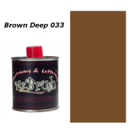 033 Mr. Brush Brown Deep 125ml.