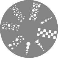 Createx Nail Stencil Graphic
