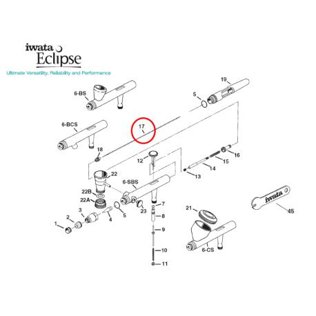 Iwata Needle 0,35mm I6172