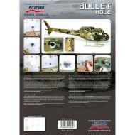 H&S Bullet Hole stencil 410145