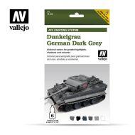 71.400 AFV German Dunkelgrau 6 x 8ml