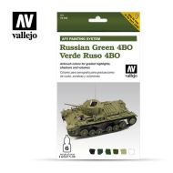 71.403 AFV Russian Green 4BO 6 x 8ml