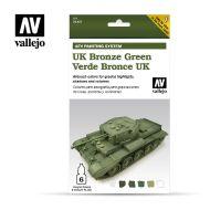 71.407 AFV UK Bronce Green 6 x 8ml