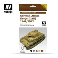 71.409 AFV German Africa Korps 1941-1942 (DAK) 6 x 8ml