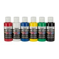 5803 Createx Opaque set 6 x 60ml
