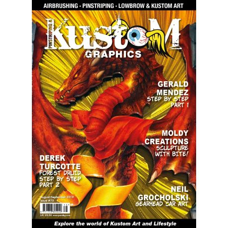 Pinstriping & Kustom Magazine nr.75