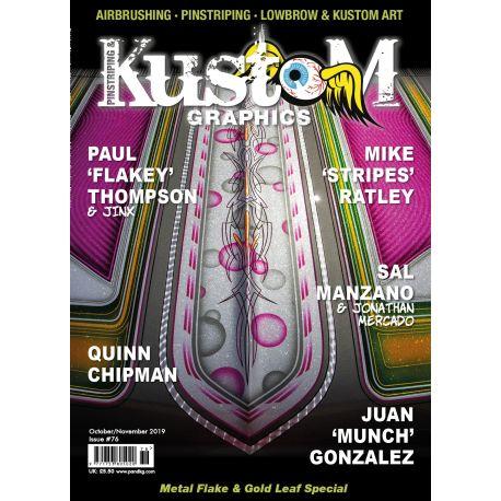 Pinstriping & Kustom Magazine nr.76