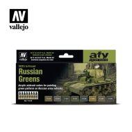 71.613 Russian Greens (1928's to Present) sæt 8 x 17ml