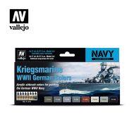 71.615 Kriegsmarine WWII German Colors sæt 8 x 17ml