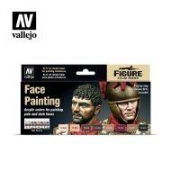 70.119 Face Painting sæt 8 x 17ml