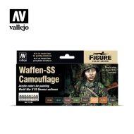 70.180 Waffen-SS Camouflage sæt 8 x 17ml