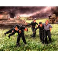 World War II era Series, German Tank Crew, Kursk 1943 1:35