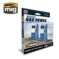 MODERN GAS PUMPS Limited Edition AMIG8501 (1:35)