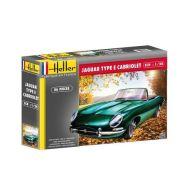 Heller Jaguar Type E 3L8 OTS Cabriolet 80719 (1:24)