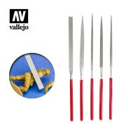 Vallejo Set Of 5 Diamond Files T03002
