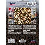 H&S Leopard Stencil 410142