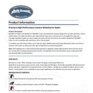 Auto Borne Sealer application guide