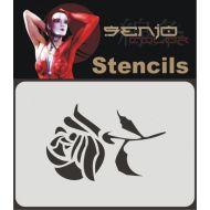 Senjo Color Rose 01 Stencil