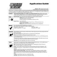 Auto air colors application guide