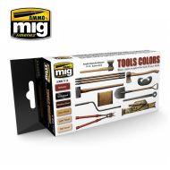 AMIG7112 Tools Colors sæt 6 x 17 ml.