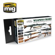 AMIG7123 Weapons Colors sæt 6 x 17 ml.