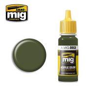 AMIG0002 Olivegrün opt.2 17ml.