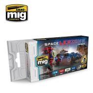 AMIG7153 Space Legions Colors sæt 6 x 17 ml.