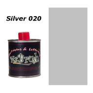 020 Mr. Brush Metallic Silver 125ml.