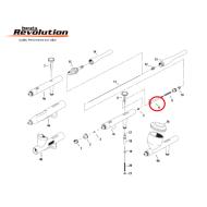Iwata Needle Chucking Guide W/ Auxiliary Lever I1157