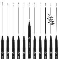 MOLOTOW™ Blackliner 0,05mm.