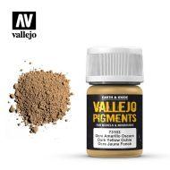 73.103 Vallejo Pigment Dark Yellow Ochre 35ml.