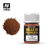 73.106 Vallejo Pigment Burnt Sienna 35ml.