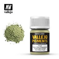 73.122 Vallejo Pigment Faded Olive Green 35ml.