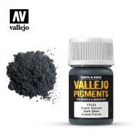 73.123 Vallejo Pigment Dark Steel 35ml.