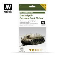 71.401 AFV Dark Yellow 6 x 8ml