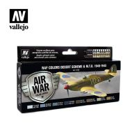 71.163 WWII RAF Desert Colors sæt 8 x 17ml