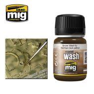 AMIG1000 Brown Wash For German Dark Yellow 35ml.