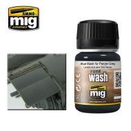 AMIG1006 Blue Wash For Panzer Grey 35ml.