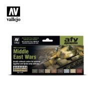 71.619 Middle East Wars (1967's to Present) sæt 8 x 17ml