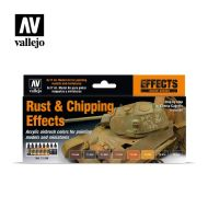 71.186 Rust and Chipping Effects sæt 8 x 17ml