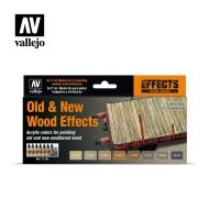 71.187 Old & New Wood Effects Colors sæt 8 x 17ml