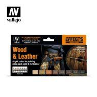 70.182 Wood & Leather sæt 8 x 17ml