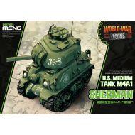 WWT-002 US Sherman M4A1 (Cartoon)